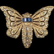 Vintage Moth Brooch