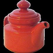 Vintage Waechtersbach Mid-Century Ceramic Teapot