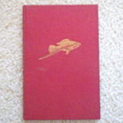 "Vintage Hardbound Book - ""Aquarium Fish in Color"