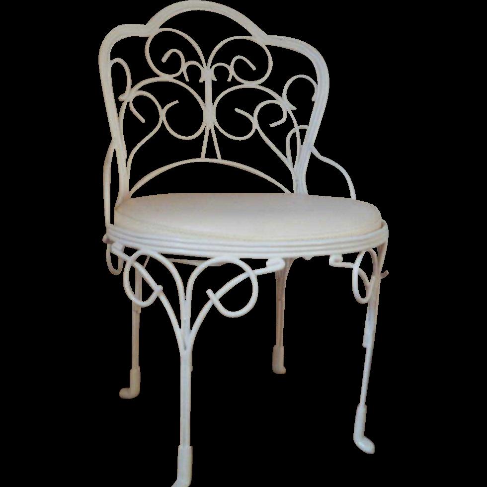 Vintage Ice Cream Parlor Doll Chair
