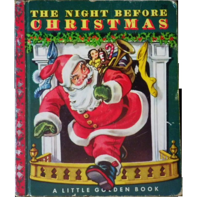 Vintage Children\'s Little Golden Book - \
