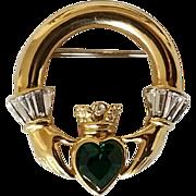 Vintage Claddagh Brooch