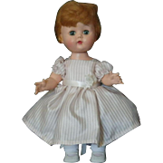 Vintage Hard Plastic Walker Doll Littlest Angel Look-Alike