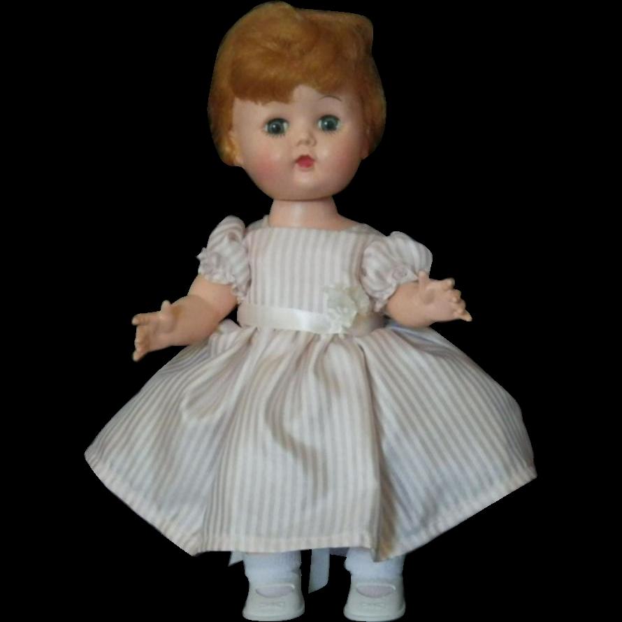 Vintage Hard Plastic Walker Doll Littlest Angel Look-Alike