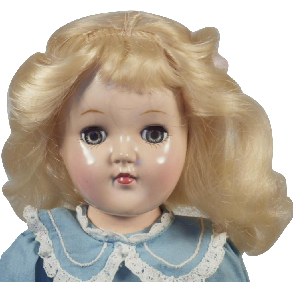 SPECIAL Christmas Price!  Vintage Hard Plastic P- 90 Toni Doll