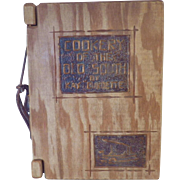 "Very Rare Vintage Hardbound Cookbook - ""Cookery of the Old South"""