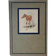 "Vintage Book - ""The Red Pony"" by John Steinbeck - First Illustrated Edition 1945"