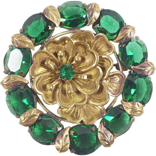 Vintage Czech Brooch Attributed to Max Neiger