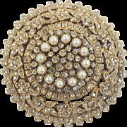 Vintage Signed De NICOLA Brooch or Pendant