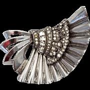 Vintage Signed Pennino Sterling Silver Brooch