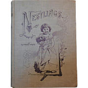 "Rare Antique Original Hardbound Book - ""Nestlings"""