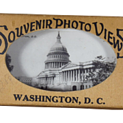 Vintage Souvenir Photo Views of Washington D.C.