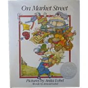 "Vintage Children's Book First Edition - ""On Market Street"""
