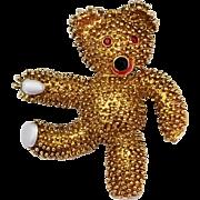 Vintage Replica Teddy Bear Brooch