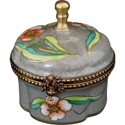 Vintage Signed Limoges Decorative Box