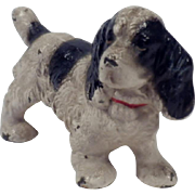 Vintage Hubley Cast Iron Cocker Spaniel Paperweight