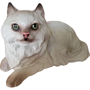 "Very Rare Vintage Hagen Renaker Figurine ""Persian Cat-Lying"""