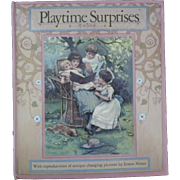 "Vintage Hardbound Children's Book - ""Playtime Surprises"""