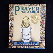 "Vintage Book - ""Prayer for a Child"""