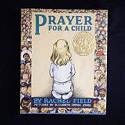 "Vintage Book - ""Prayer for a Child"""