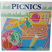 "Vintage Cookbook - ""Picnics"" First Edition"