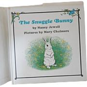 "Vintage Hardbound Children's Book - ""The Snuggle Bunny"""