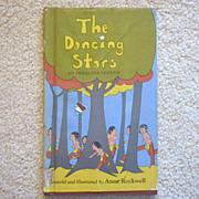 "Vintage Hardbound Book - ""The Dancing Stars, An Iroquois Legend"""