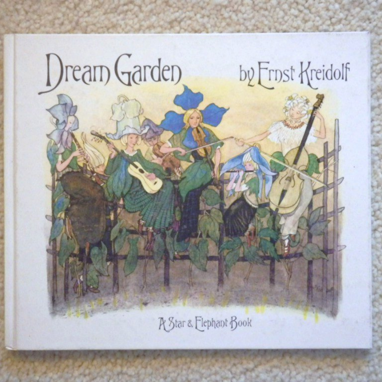 "Very Rare Vintage Hardbound Book -"" Dream Garden"""