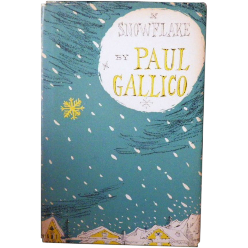 "Vintage Hardbound Book - ""Snowflake"" by Paul Gallico"