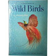 "Vintage Hardbound Book - ""A Child's Book of Wild Birds"""