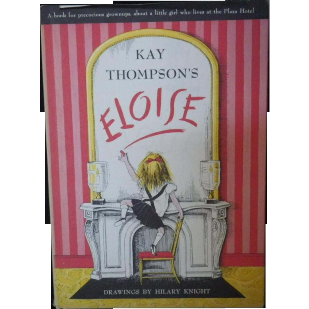 """Vintage Hardbound Children's Book - """"Eloise"""""""