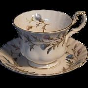 Vintage Royal Albert Brigadoon Cup & Saucer Set - Red Tag Sale Item