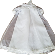 Vintage Sheer White Doll Gown