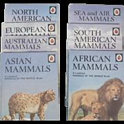 Vintage Ladybird Book Set of Seven Animals of the World Boos - Mammals