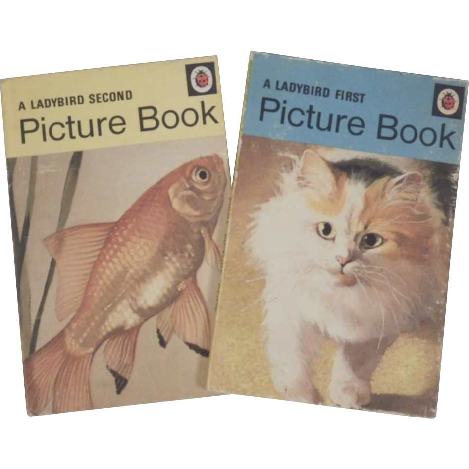 Vintage Ladybird Book Set of Picture Books