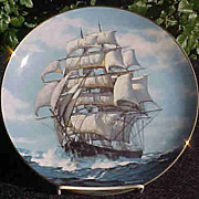 The Twilight Under Full Sail - Limited Edition Plate 1989