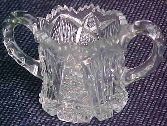 Imperial Glass Nucut Open Sugar 1914 -1932