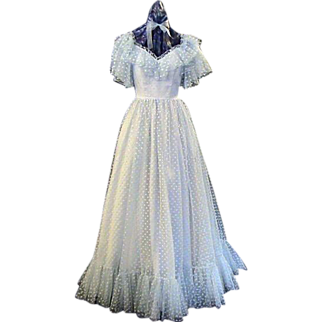 Formal Prom / Wedding / Ball Gown- Mike Benet 1960's