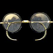 Bausch & Lomb Artshel Aristocrat Spectacles/Eyeglasses 1920's