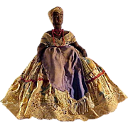 Antique African American Lady Doll