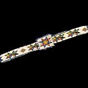 Native American Beadwork Belt