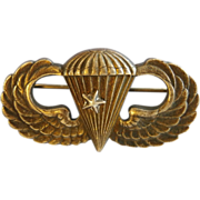 WWII US Army Airborne Paratrooper Jump Wings