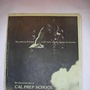 Michael JACKSON Authentic 1976 Cal Prep YEARBOOK Authentic
