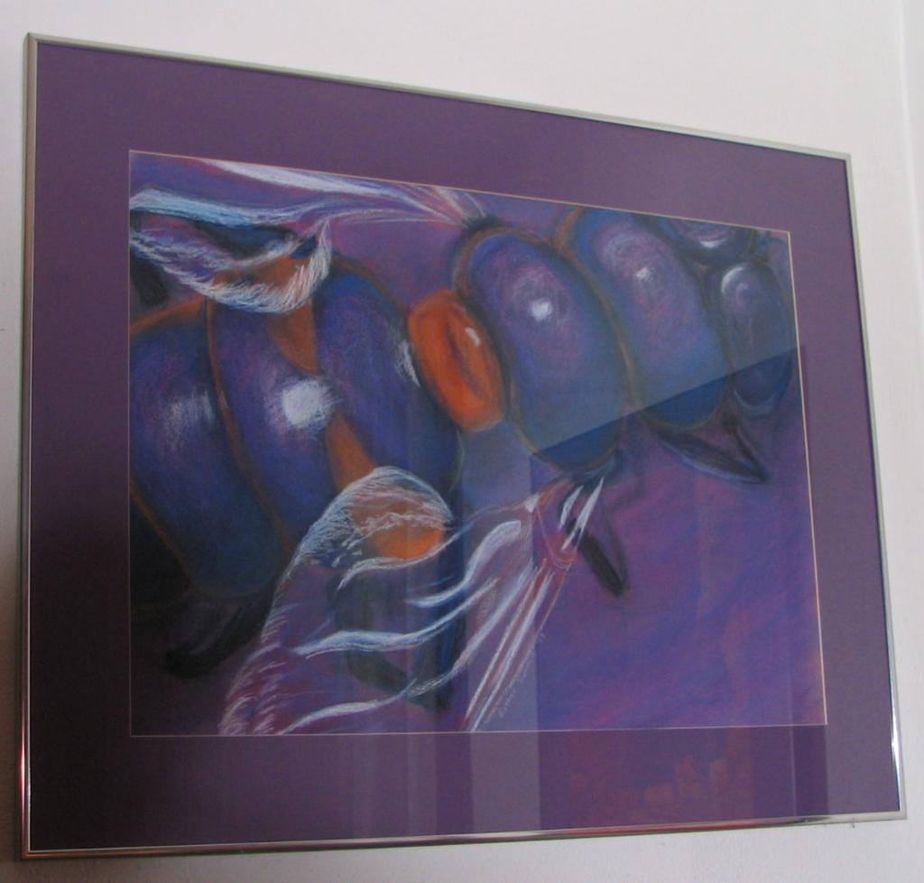 Bee at Rest ~ Original Signed Pastel Painting by E.Dornin