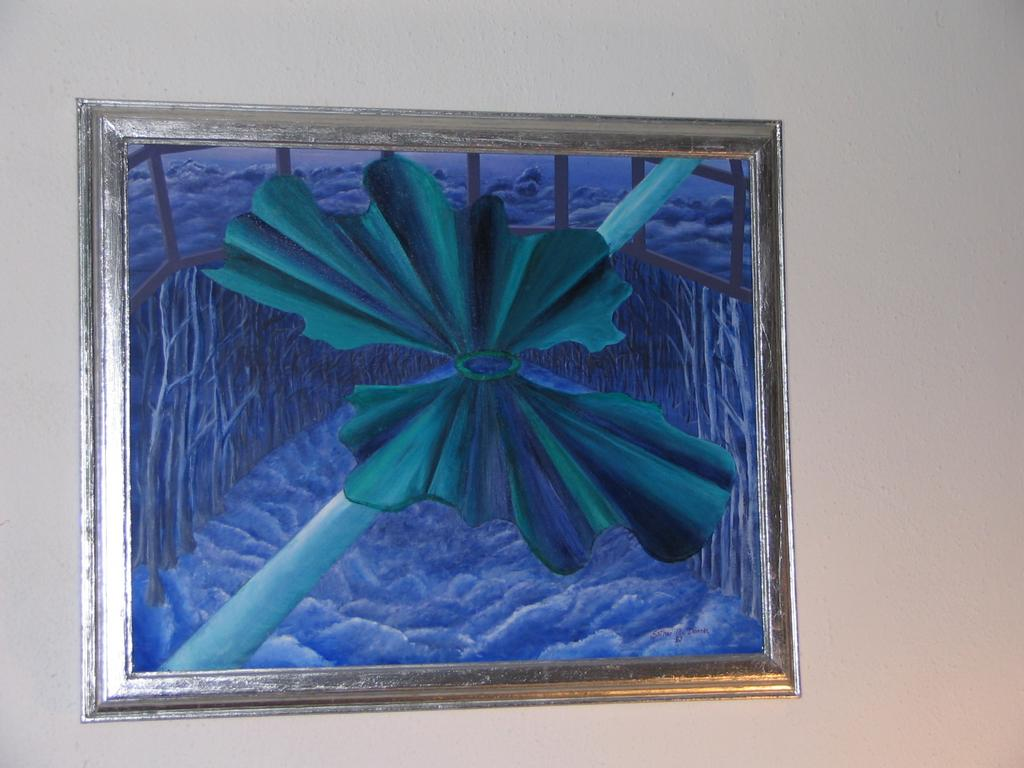 Airborne and Window ~ Original Signed Painting