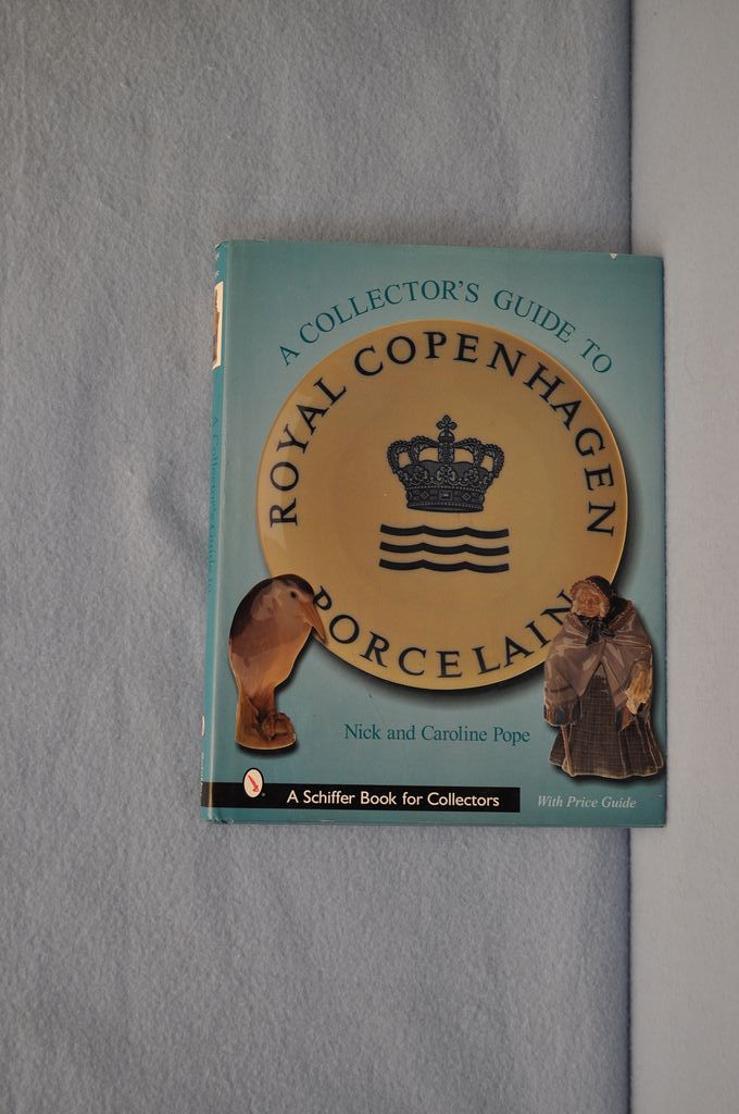 Reference Book Royal Copenhagen Porcelain