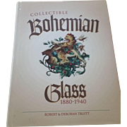 "Bohemian Glass Book ""Collectible Bohemian Glass 1880-1940"""