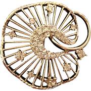 Costume Jewelry Pin - Brooch