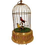 Double Singing Bird in a cage.