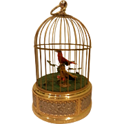 Double Singing Birds in Cage